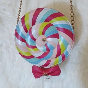 Betsey Johnson vintage lollipop crossbody bag